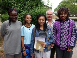 Fay family celebrate outstanding results at Sexey's