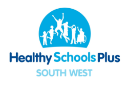 Health Schools Plus South West logo