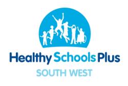 Health Schools Plus South West logo