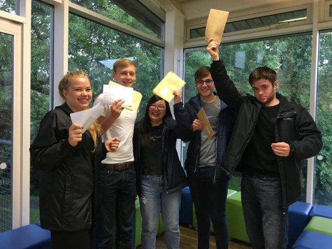Sixth Form leads in National League Tables