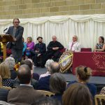 charlie higson at sexey's speech day