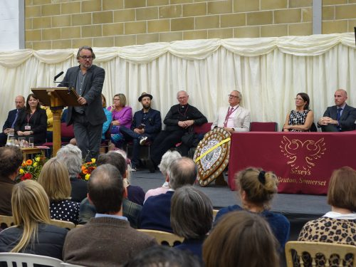 Speech Day with Charlie Higson