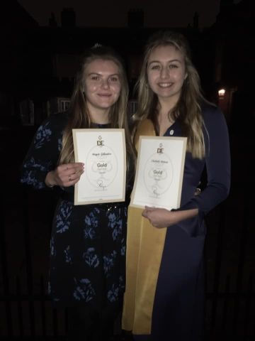 Students collect Gold DofE Awards at St James' Palace