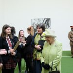 Sexey's students meet the Queen