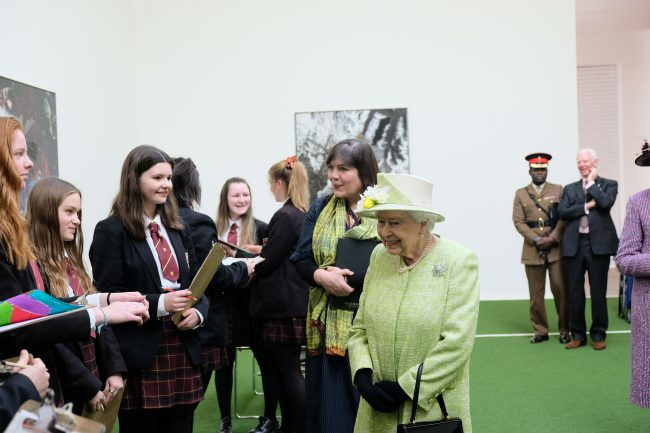 Meeting Her Majesty The Queen