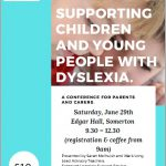 Dyslexia conference poster