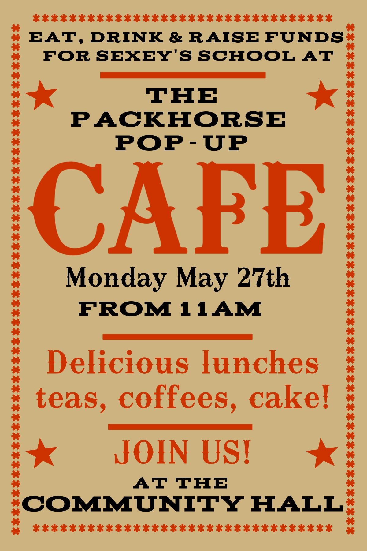 The Packhorse Pop-up Cafe