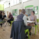 Students take part in mock interviews