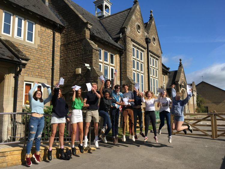 GCSE results success!