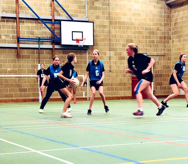 Bath netball training