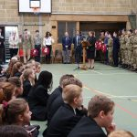 Students and cadets mark Remembrance Day 2019