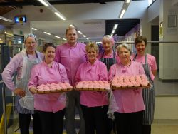 KDR team with cupcakes for Pink Friday