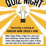 PSA Quiz Night