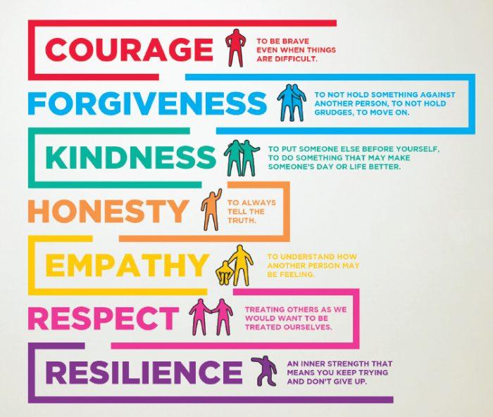 7 Core Values