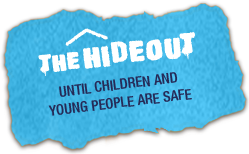 The Hideout charity logo