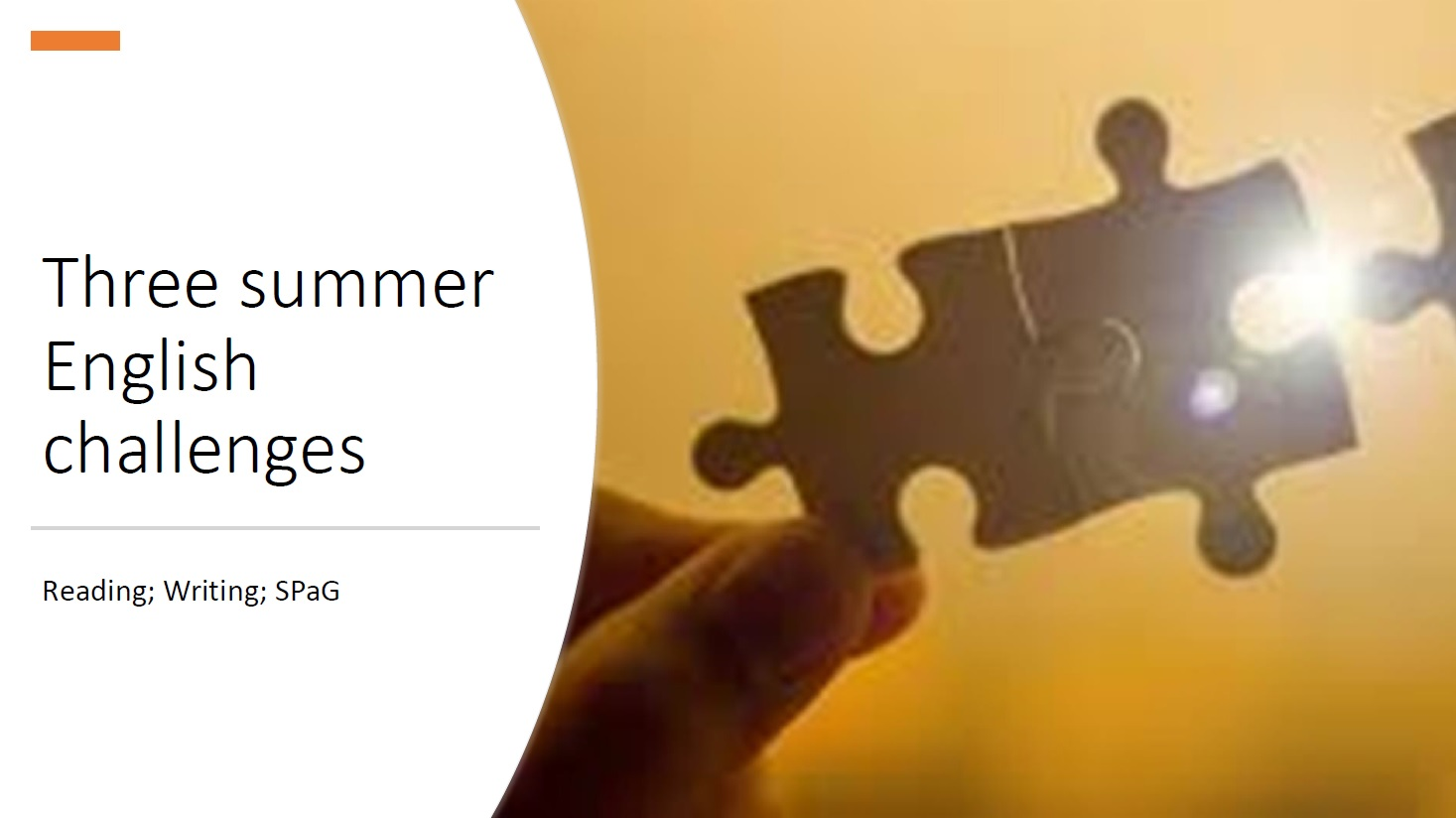 Summer English Challenge