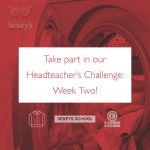 Headteacher's Challenge advert graphic