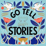 Go tell stories - a sign for national storytelling week