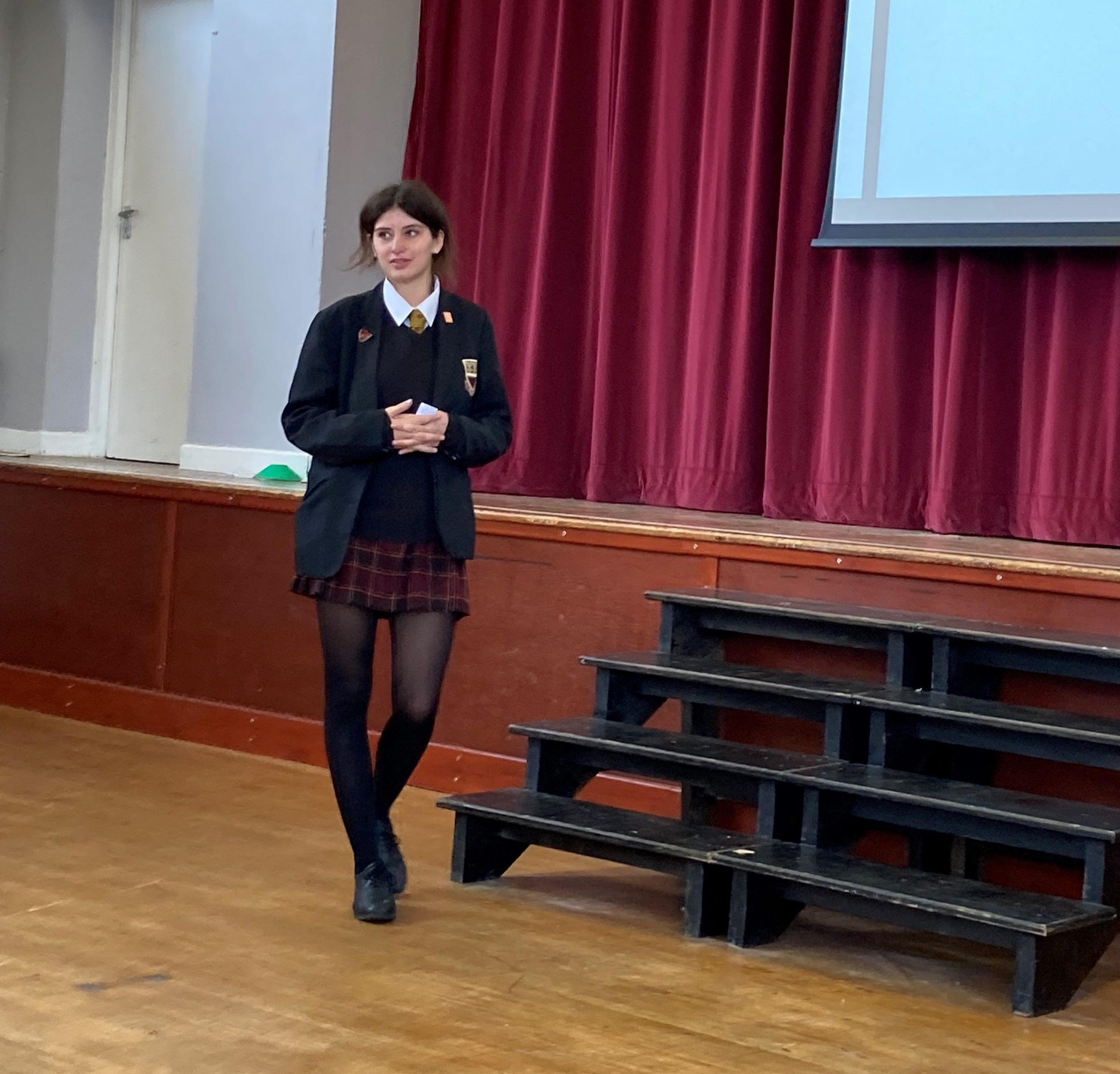 Young speaker success!